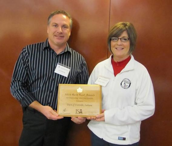 ISA Gold Leaf Award