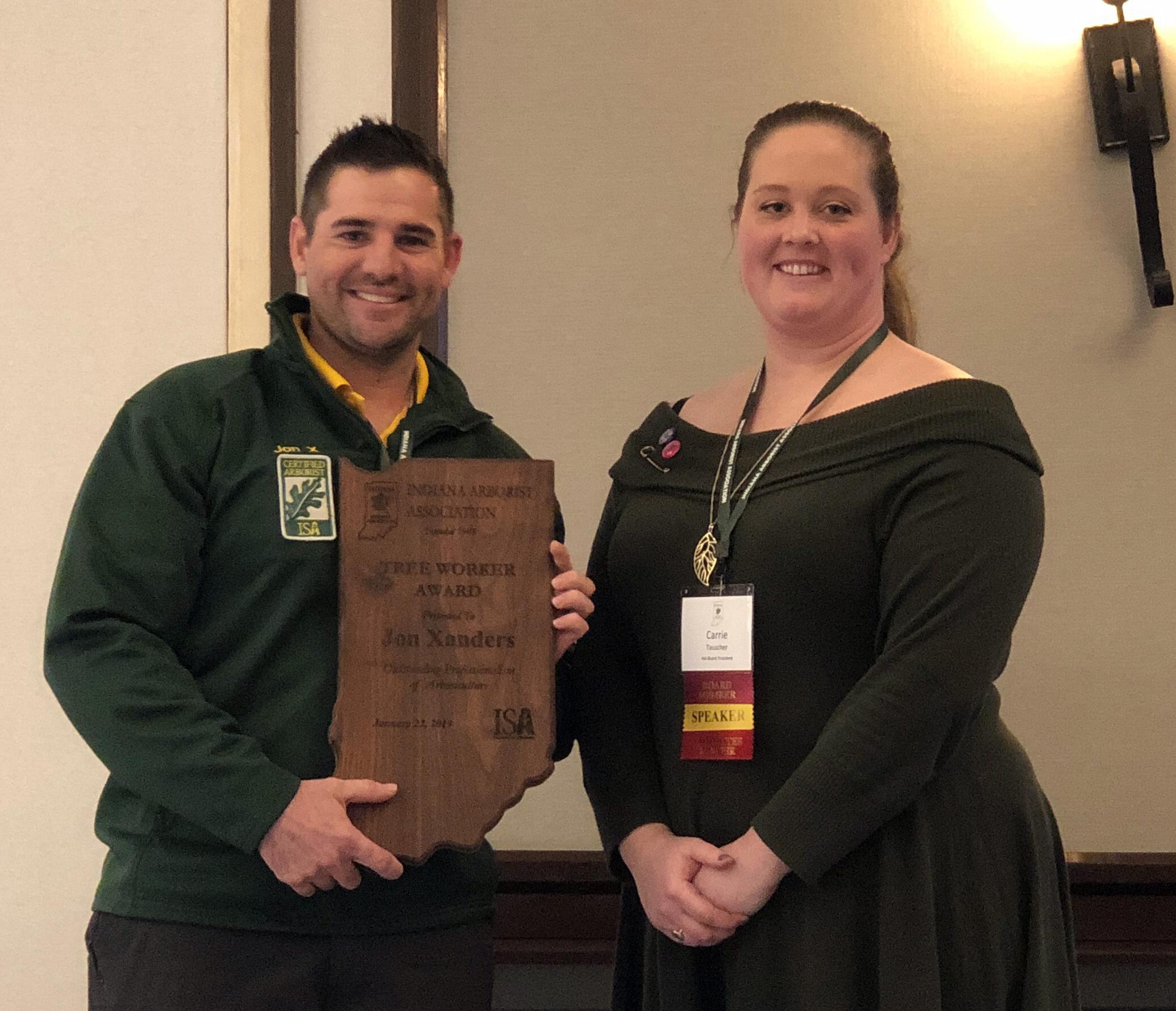 Tree Worker Award