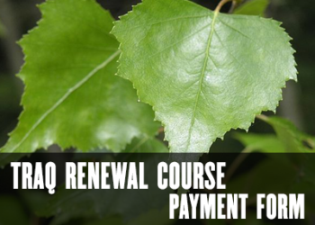 TRAQ Renewal Course Payment Form