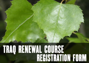 TRAQ Renewal Registration Form