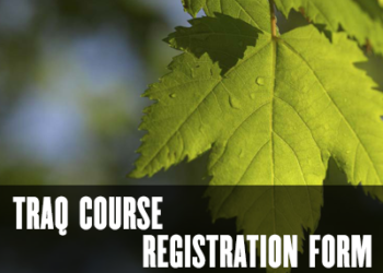 TRAQ Course Registration Form